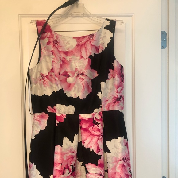 Established 1962 Dresses & Skirts - Pink and black flowered dress